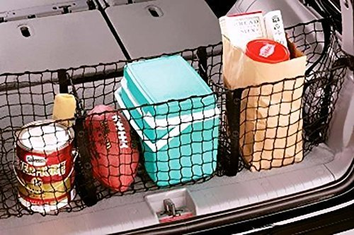 zone tech  pocket mesh storage net black mesh  pocket trunk cargo organizer desertcart