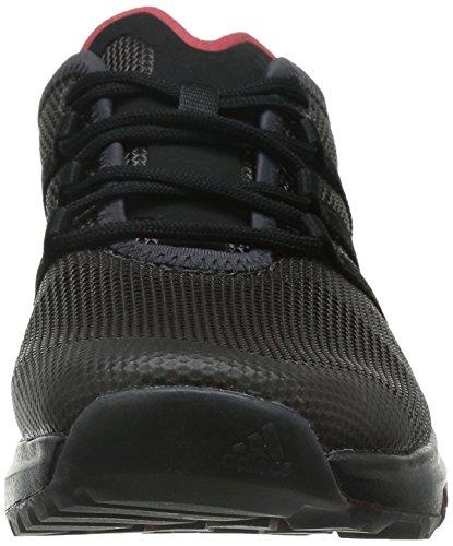 adidas Climacool Voyager, Zapatillas de Deporte Unisex Adultos, Multicolor, 7 UK Negro / Rojo (Negsom / Negbas / Rojpot)