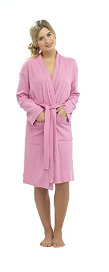 Hari Deals Ladies Waffle Robe Dressing Gown b821d1441