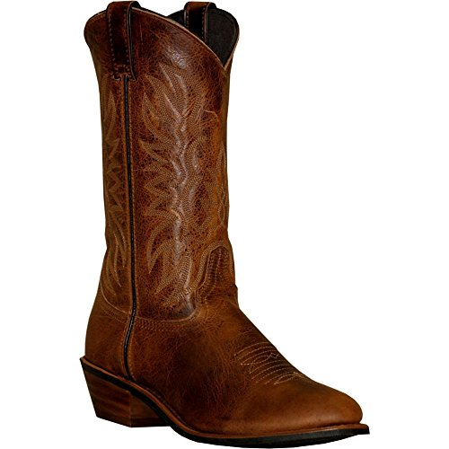 - Abilene Sage Mens Round Toe Cowboy Boots