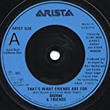 That's What Friends Are For - Dionne Warwick And Friends* Featuring Elton John, Gladys Knight And Stevie Wonder 7' 45