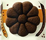 Cachafaz All Natural 3 pack Carob Whole Wheat Cookies/High Oleic Sunflower Oil/Essentials Oils and Natural Antioxidants/No Refined Sugar/No White Flour/No Bovine Fat/No High Fructuose Corn Syrup