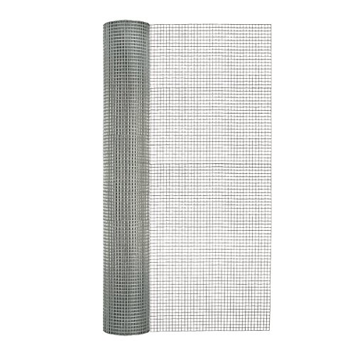Garden Zone 48 Inches x 50 Feet 19-Gauge Galvanized Hardware Cloth with 1/4-Inch Openings ()