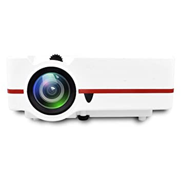 Proyector, videoproyector portátil, Mini proyector de películas ...