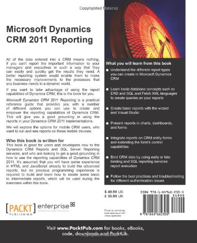 Microsoft Dynamics CRM 2011 Reporting and Business ...