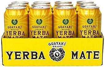 Guayaki Organic Yerba Mate, Lemon Elation, 16 Ounce (Pack of 12)