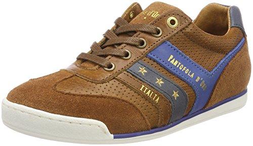 Pantofola dOro Jungen Vasto Ragazzi Low Sneaker Braun (Tortoise Shell)