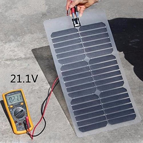 NW 1776 Flexible Solar Battery Maintainer 18V 12V 20W Solar Car Boat Power Panel Battery Charger Maintainer for Automobile Motorcycle Tractor Boat Batteries by NW 1776 (Image #7)