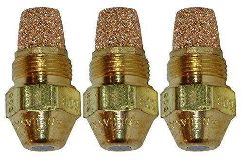 3-Pack Delavan Oil Burner Nozzles .75-70°B Solid Flame Pattern