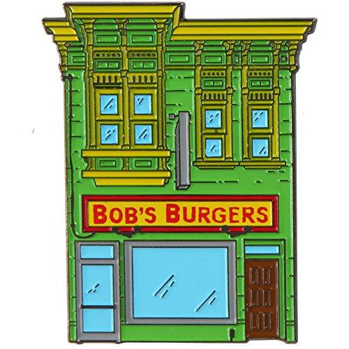 (Bob's Burgers Enamel Pin - Storefront)
