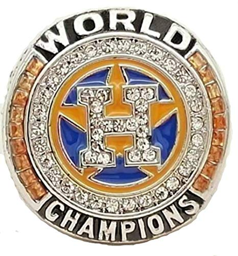 - Astros 2017 Houston World Series Replica Ring (Silver) (9) Altuve