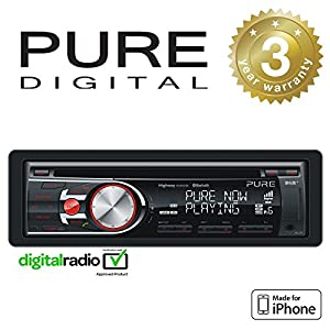 pure highway h270sb car dab digital radio cd with ipod. Black Bedroom Furniture Sets. Home Design Ideas