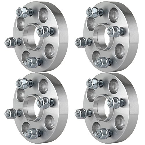 (Wheel Spacers Adapters Hubcentric,ECCPP Hub Centric Wheel Spacers 4x100 4X 4 lug 1