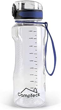 CampTeck BPA Free Botella Agua de un litro