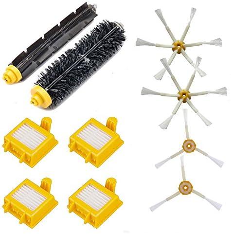 로봇 청소기 700 시리즈와 호환 되는 소모품 세트 필터 브러시 760 770 780 790 해당 호환 10 점 / 10 compatible with robot vacuum cleaner 700 series compatible consumable set filter brush 760 770 780 790