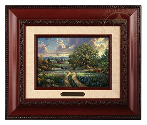 (Thomas Kinkade Country Living Brushwork (Burl Frame))