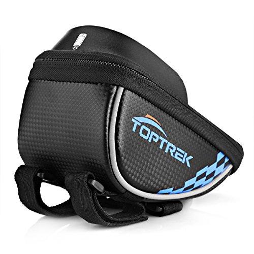 Toptrek Cycling Bicycle Bike Top Tube Handlebars Bag Phone