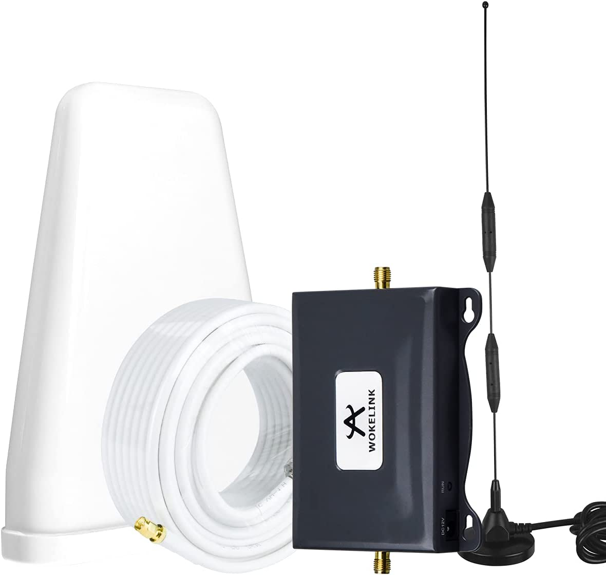 ATT Signal Booster AT&T Cell Phone Signal Booster 4G LTE T-Mobile Cricket US Cellular Band12/17 Cell Signal Booster AT&T Cell Phone Booster ATT Cell Extender Signal Amplifier Boost Voice+Data for Home