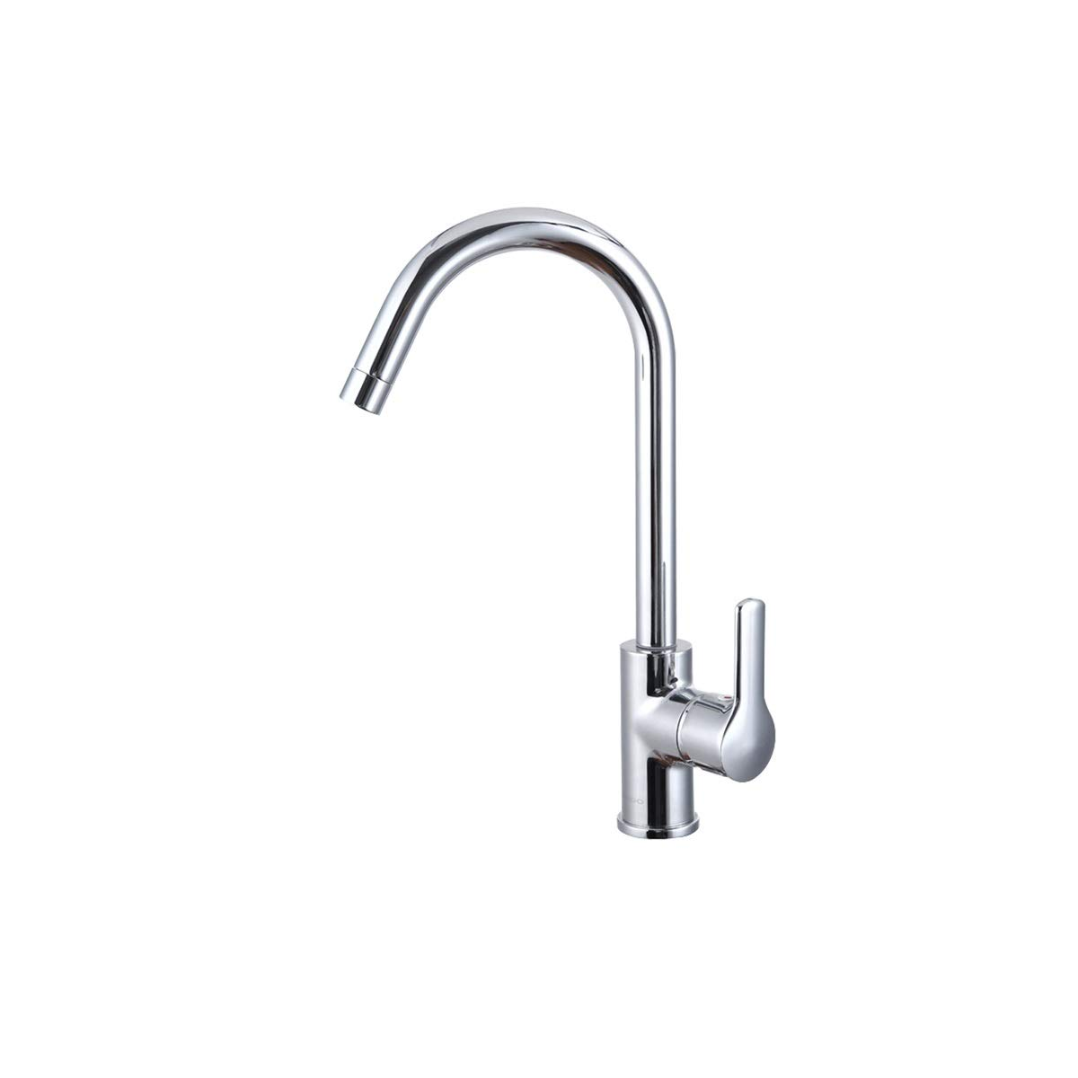 QIANZICAIDIANJIA Single Handle High Polished Finish Pulls Out Kitchen Faucet, Single Layer Stainless Steel Kitchen Sink Faucet With Pull-down Sprayer, stainless steel faucet by QIANZICAIDIANJIA
