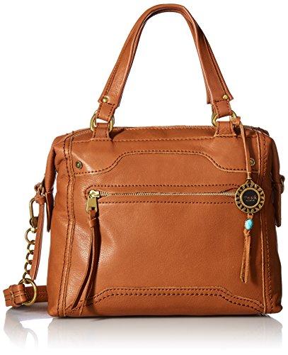 Bowler Handbag Small (The Sak The Collective Tahoe Satchel Bag, Cognac)