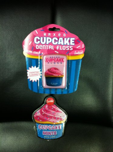 CUPCAKE Lovers Combo Gift Pack- Cupcake Floss &
