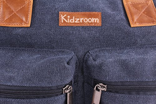 Kidz Room 030–�?094–�?Bolso cambiador Vision Of Love Canvas, Jeans azul
