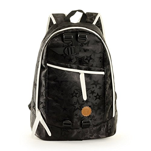 Sincere® Fashion Rucksack / Zipper Rucksäcke / Street fashion / Multifunktions- / beiläufige Schulterbeutel / Outdoor-Mode Rucksack / Schultasche / bulk bag / Computer-Tasche-schwarz
