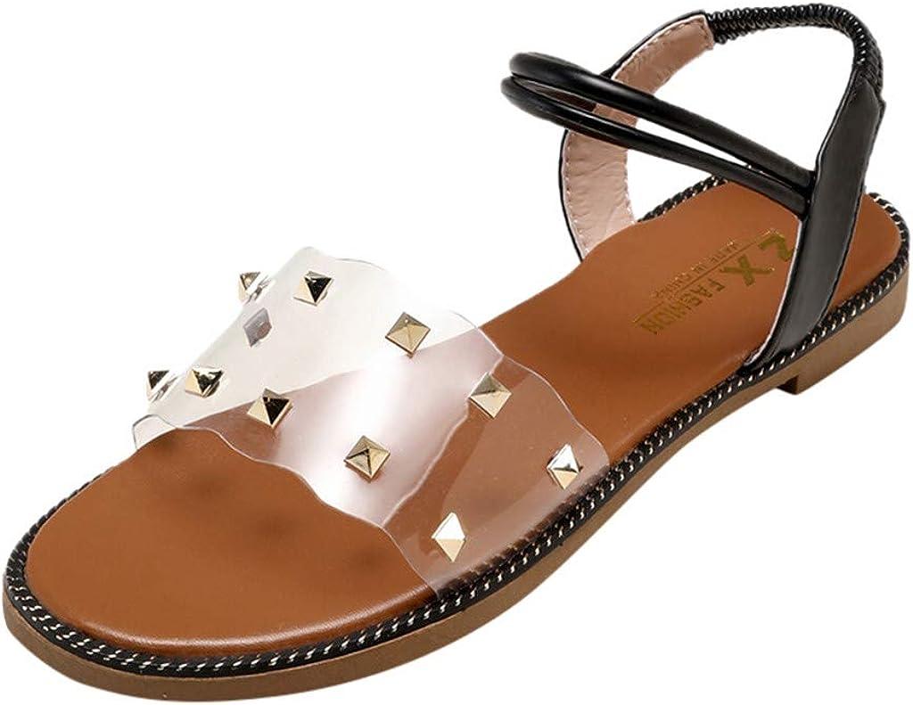 Darringls Sandalias para Mujer,Sandalias Mujer Zapatos Planos ...