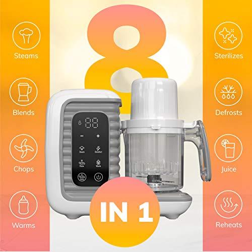 510K2 paIyL - Children Of Design 8 In 1 Smart Baby Food Maker & Processor, Steamer, Blender, Cooker, Masher, Puree, Formula & Bottle Warmer Prep System