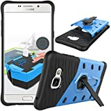 for Samsung Galaxy A5 A5100 (2016) Case [360 Kickstand Holder] GuluGuru PC+TPU Aplit Joint Hybrid Back Armor Cover With Built in Stand Cell Phone Case