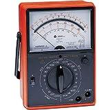 Triplett 3145 Ruggedized Analog Voltmeter, 28 Ranges and Functions