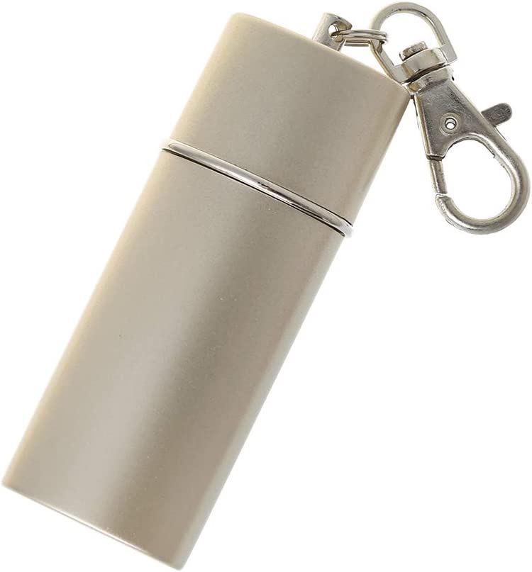 ruiruiNIE Portable Mini Cendrier de Poche Porte-cl/és Accessoires de Fumer de lenvironnement