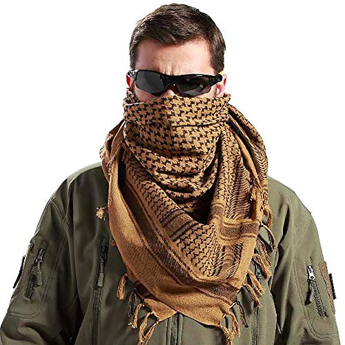 Tactical Desert Shemagh Arab Keffiyeh Neck Scarf 43' x 43' 7 colors Available