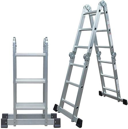 DY Escalera Plegable Escalera Recta Escalera de Aluminio multifunción Conveniente Proyecto de Escalera telescópica Escalera Recta, de elevación Pabellón Escaleras,: Amazon.es: Hogar