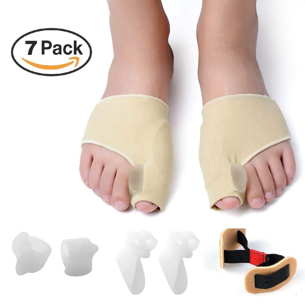 38163122b47c ZNYsmart Bunion Corrector and Bunion Relief Toe Separator Spacer  Straightener Splint Pad Protector Sleeves Kit product