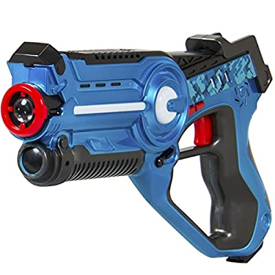 Best Choice Products Kids Infrared Lazer Tag Set Gun Toy Blasters W/ Multiplayer Mode, 2 Pack: Toys & Games