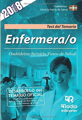 Enfermera/o. Osakidetza-Servicio Vasco de Salud. Test del Temario  [autores, Varios] (Tapa Blanda)