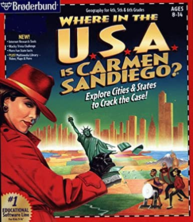 CARMEN SANDIEGO THINK QUICK CHALLENGE +1Clk Windows …