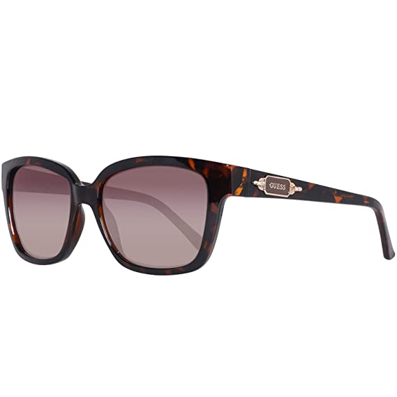 Guess GF6014-5552F Gafas de sol, Brown, 55 para Mujer ...