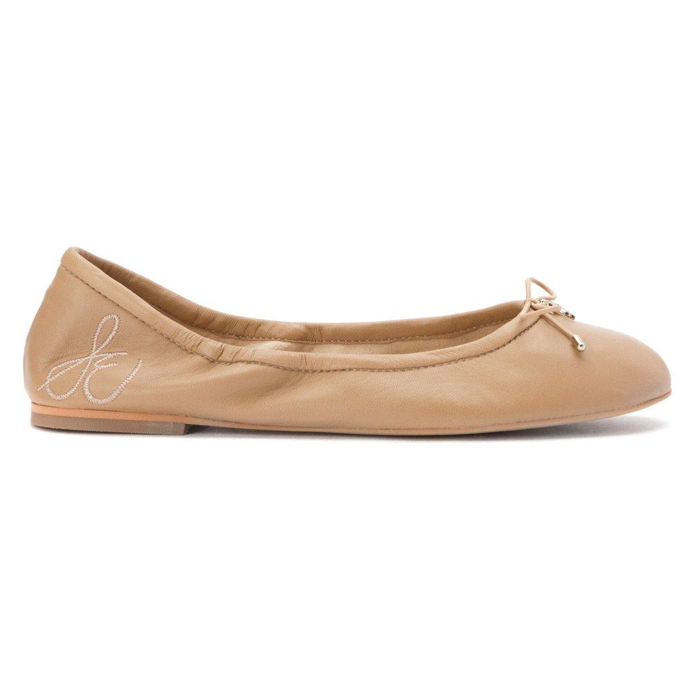 Sam Ballerinas Edelman Felicia A4085LP009 Damen Ballerinas Sam Nude Leder 05b381
