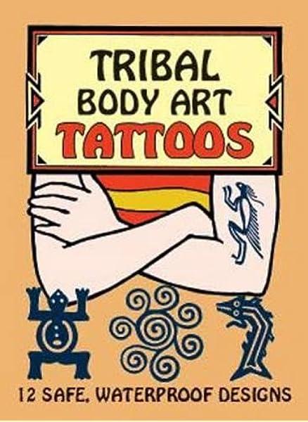 Tribal Body Art Tattoos Dover Tattoos Anna Pomaska 9780486416472 Amazon Com Books