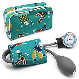 AIESI Esfigmomanometro Tensiómetro Manual Pediatrico Profesional Aneroide clásico con brazalete de colores para ninos DOCTOR PRECISION CHILD ✔ Medidor de presión sanguinea mecánico ✔ Garantía 24 meses 21