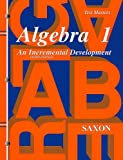 Algebra 1: Test Masters, John Saxon, 1565771362
