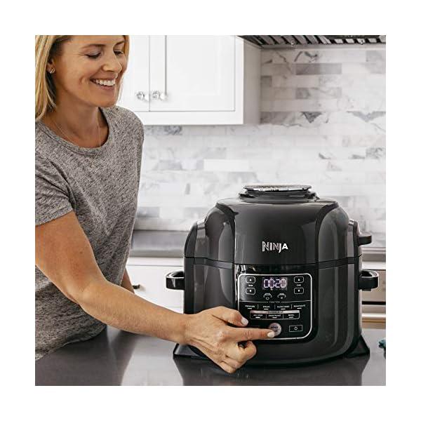 Ninja Foodi TenderCrisp Pressure Cooker, Black OP300 3
