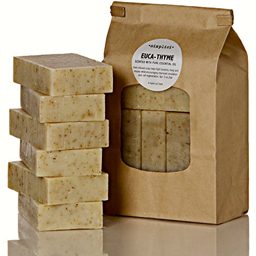 SIMPLICI Euca-thyme Soap Value Bag 6 Bars
