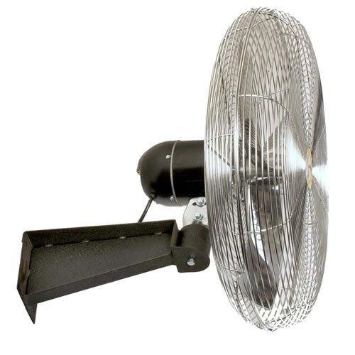 Airmaster 20'' Wall Mount Fan, 1/5HP, 3100CFM by Airmaster