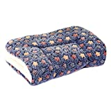 ZHIY Winter Pet Blanket Puppy Dog Cat Sleep Cushion Soft Flannel Sleep Mat Pad with Cute Stars Washable Size XL Blue