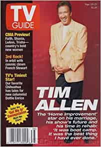 tv guide september 19 25 1998 tim allen the home. Black Bedroom Furniture Sets. Home Design Ideas