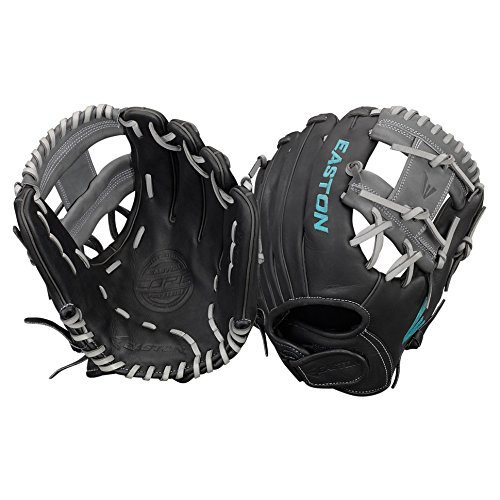 Easton Core Fastpitch Series COREFP1175BKGY Left Hand Throw 11.75 in Infield - Gear Throw Express Womens