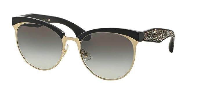 Miu Miu W-SG-3125 MU 54QS 1BO0A7-Pale Gold Womens Sunglasses, 56-18-145 mm